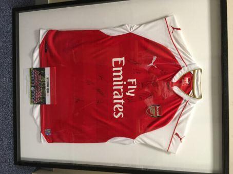 Signed Arsenal Shirt 2015-2016 Auction Prize